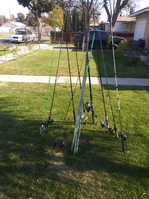 Fishing poles for Sale in Fresno, CA