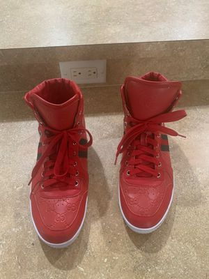Gucci High tops size 10 in good condition for Sale in Tampa, FL