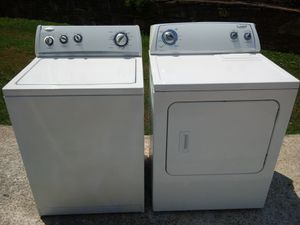 🐅👀 washer and dryer 🔓🌎 for Sale in Las Vegas, NV