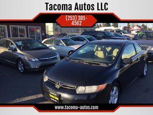 2006 Honda Civic Cpe for Sale in Tacoma, WA