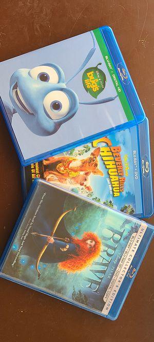 Disney Blu-ray's for Sale in Fresno, CA