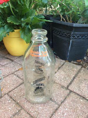Antique half gallon milk bottles- 3 for Sale in Winter Springs, FL