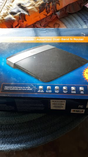 Linksys E2500 Advanced Dual-Band N Router for Sale in Terre Haute, IN