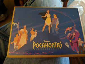Disney Pocohantas pin box set for Sale in Clayton, NC
