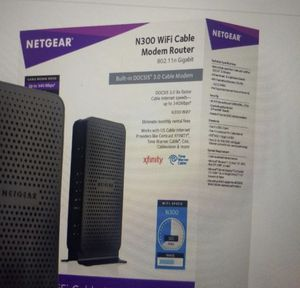 WiFi cable modem router for Sale in Sugar Land, TX