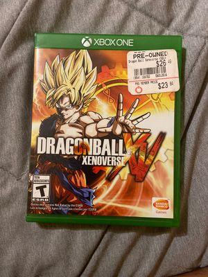 Dragon Ball XV Xbox one for Sale in Lynwood, CA