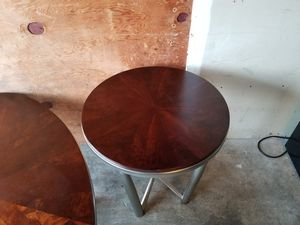 Two end tables and cocktail table for Sale in Tacoma, WA