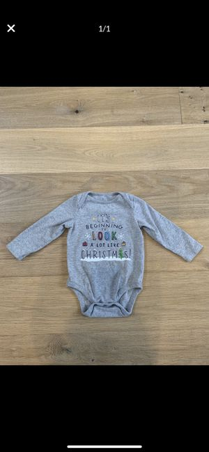 Baby Gap 18-24 Months Christmas Onsie Gymboree Janie and Jack for Sale in Wilsonville, OR