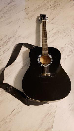 Braun Black Acoustic Guitar for Sale in San Jose, CA