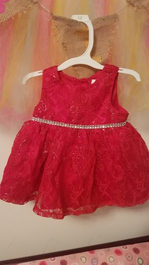 Christmas Red Dress 3-6 months Girls for Sale in Philadelphia, PA