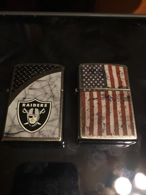 Zippo two lighters for Sale in Fresno, CA