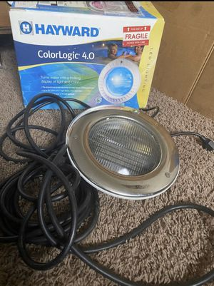 Color Logic 4.0 Pool light *Used* for Sale in Rialto, CA