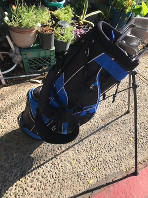 Topflite golf bag with clubs obo need gone ASAP!! for Sale in Fresno, CA