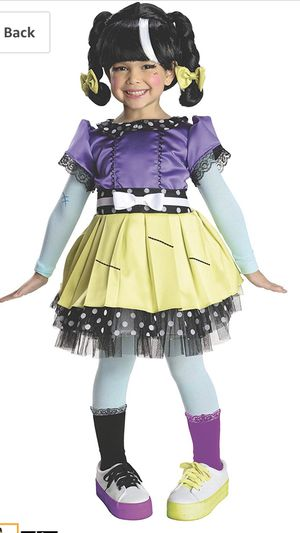 *New* Rubies Lalaloopsy Scraps N Sewn Costume, Child Medium for Sale in Simpsonville, SC