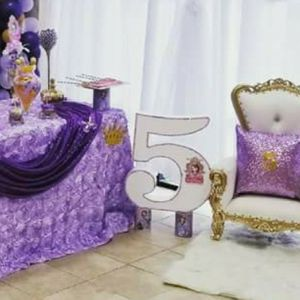 Kids Royal Throne Chair - White And Gold Leather for Sale in Katy, TX