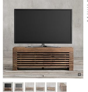 Restoration Hardware TV media stand for Sale in San Francisco, CA