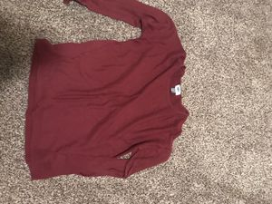 Red Old Navy sweater, size M for Sale in Sioux City, IA