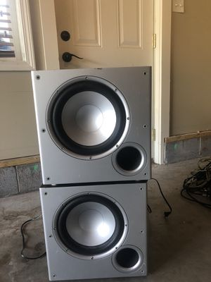 Polk audio 10 inch subwoofer for Sale in Knoxville, TN
