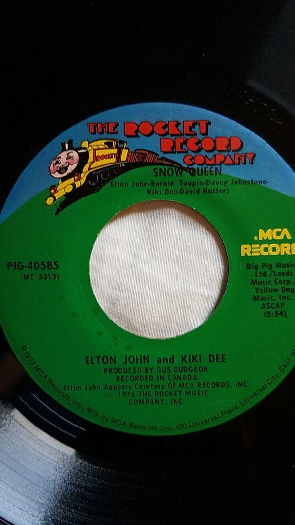 Elton John and Kiki Dee 45rpm