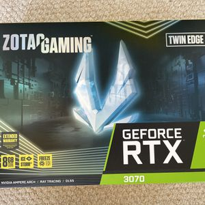 ZOTAC Gaming GeForce RTX 3070 Twin Edge for Sale in Escondido, CA