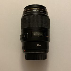 Canon EF 100mm f/2.8 Macro USM Lens for Sale in Hialeah, FL