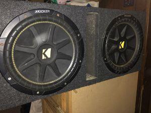 """12"""" kicker sub box for Sale in Danbury, CT"""