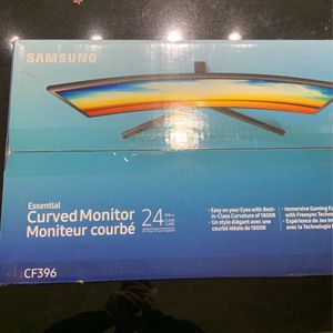 Samsung 24 inch Curved Monitor for Sale in Dallas, TX