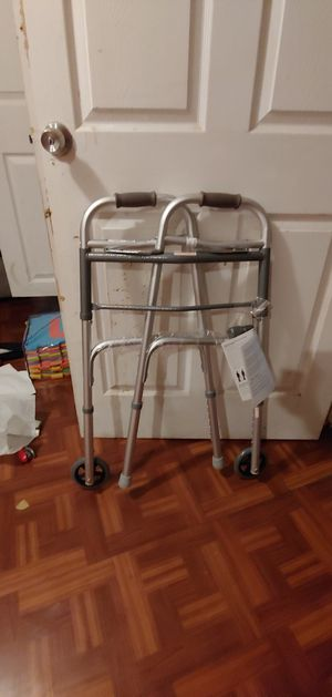 Guardian 2 Button Folding Walker for Sale in Washington, DC