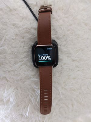 Fitbit Versa special edition fitness smart watch for Sale in Riverside, CA