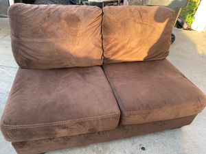 Chocolate brown sectional for Sale in Riverside, CA