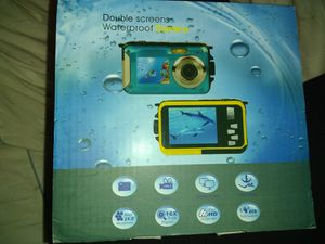 Waterproof dual screen digital diving camera for Sale in Houston, TX