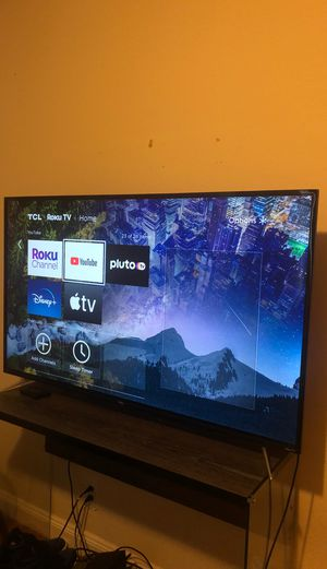 """55"""" TCL 4K HDTV ROKU TV brand new condition for Sale in Daly City, CA"""