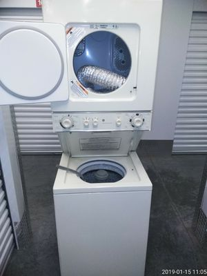 Whirlpool 24 inch electric washer and dryer works Good free delivery for Sale in Fort Washington, MD