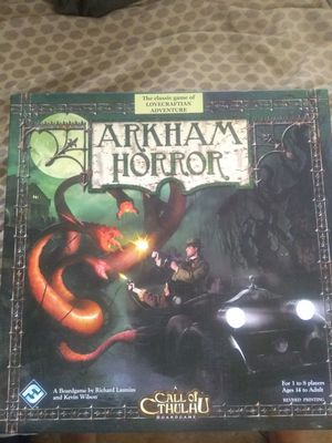 Arkham Horror A Call Of Cthulhu board game for Sale in Phoenix, AZ