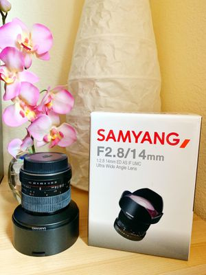 Canon mount F2.8/1.4mm Ultra Wide Angle for Sale in Milpitas, CA