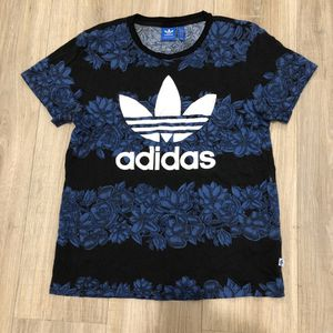 🔥ADIDAS BLUE FLORAL T-SHIRT🔥 for Sale in Mountlake Terrace, WA