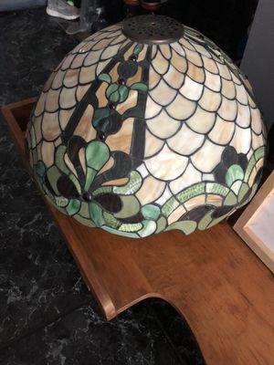 Large stain glass light fixture for Sale in Tampa, FL