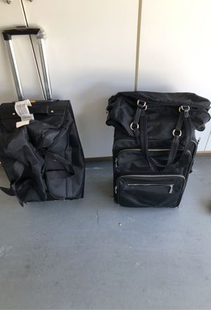 2pc sett from express. Rolling duffle bag! for Sale in P C BEACH, FL