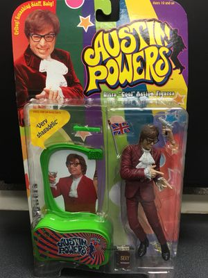 Austin Powers Action Figure NEW for Sale in San Jose, CA