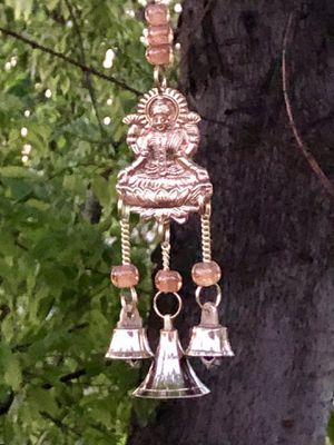 Orange Chakra Beads & Bells - Lakshmi Wind Chime for Sale in Nashville, TN
