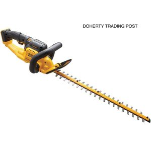 DEWALT 22 in. 20-Volt MAX Lithium-Ion Cordless Hedge Trimmer (Tool Only) for Sale in Northampton, PA