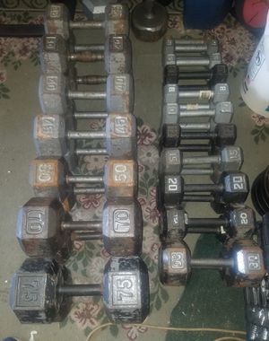 Dumbbell weights for Sale in Orland Hills, IL