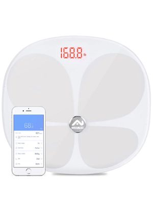 Nidouillet Smart Bluetooth Body Fat Scale, Body Composition Analyzer Health Monitor for iOS & Android APP, 24 Essential Health Indicators, BMI,Body W for Sale in San Dimas, CA