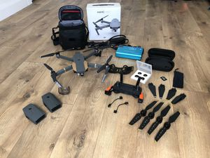Drone DJI Mavic Pro fly more bundle for Sale in Ferron, UT
