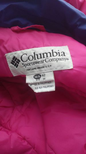 Columbia womens jacket xl for Sale in Kingsley, MI