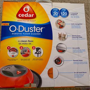 O-Cedar O-Duster Robotic Floor Cleaner for Sale in Rockville, MD