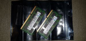 4gb total of PC3 8500S Laptop memory for Sale in El Cajon, CA