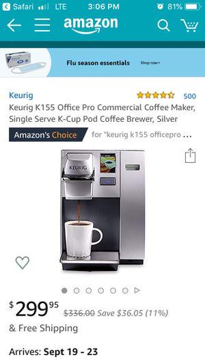 Keurig K155 OfficePro Premier Brewing System for Sale in Spanaway, WA