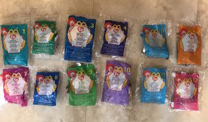 1999 McDonald's Beanie Babies (Full Set) for Sale in Fullerton, CA