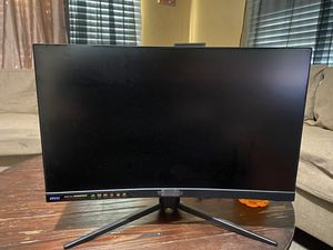 """MSI 24"""" CURVED 144HZ GAMING MONITOR for Sale in Victorville, CA"""